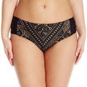 Becca Crocheted Bohemia Hipster Bikini Bottom NWT